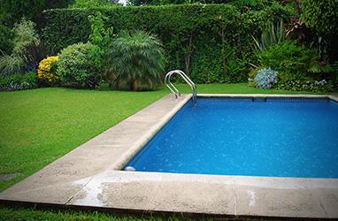 Agua para piscina for Calcular volumen piscina